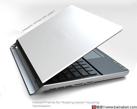 创意 >> 自带支架的笔记本电脑图片