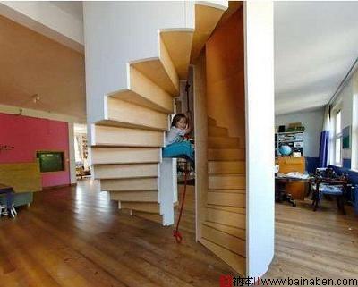 吊顶楼梯-百衲本,百衲本视觉