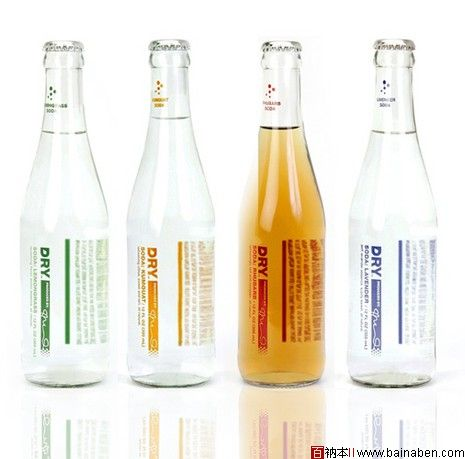 很棒的透明瓶子; 国外优秀饮料包装精选之二; 国外优秀包装设计欣赏图片