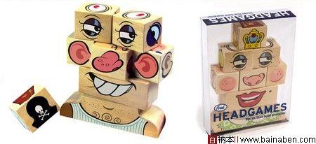 玩具包装设计欣赏-百衲本视觉