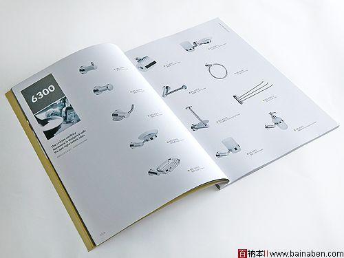 洁具公司产品目录设计欣赏