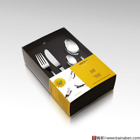 国外餐具包装设计欣赏