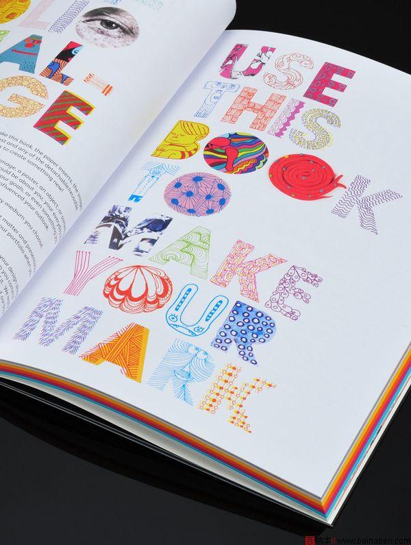 townsend书籍杂志版面设计欣赏