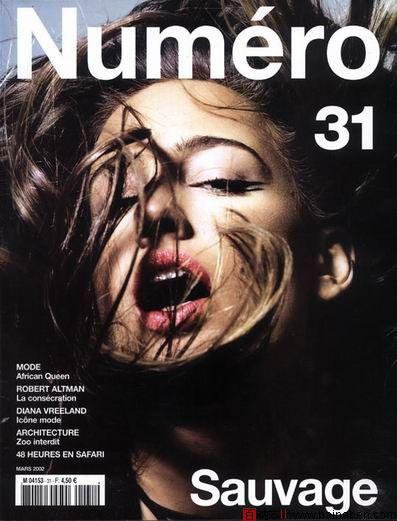 《numero》杂志封面摄影欣赏
