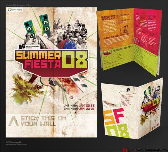 百衲本,百衲本视觉,企划,策划 展板 >> 国外创意海报设计欣赏