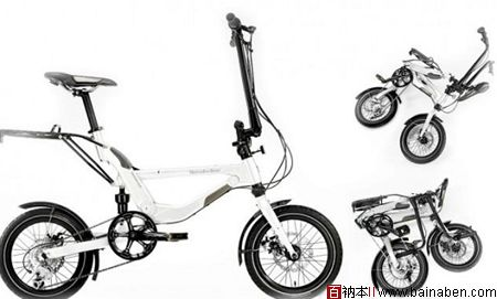 奔驰折叠自行车-百衲本