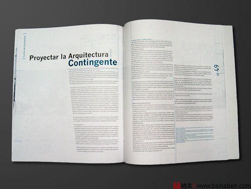 curva杂志版式设计欣赏风格简洁