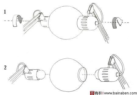 台灯造型设计图手绘图