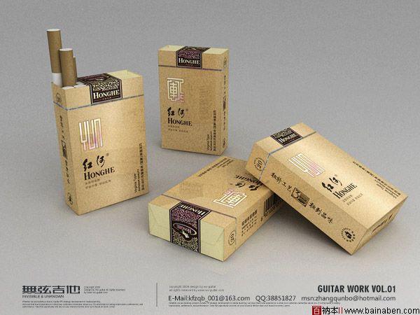 红动中国无弦吉他包装设计欣赏-红河包装 优秀奖-百衲本