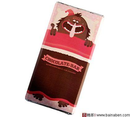 国外简洁风格巧克力包装设计欣赏