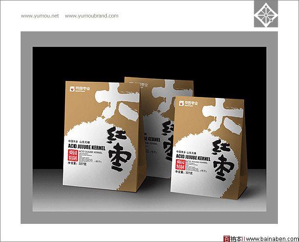 与谋品牌-包装设计欣赏-舜圆冬枣包装设计_盒装