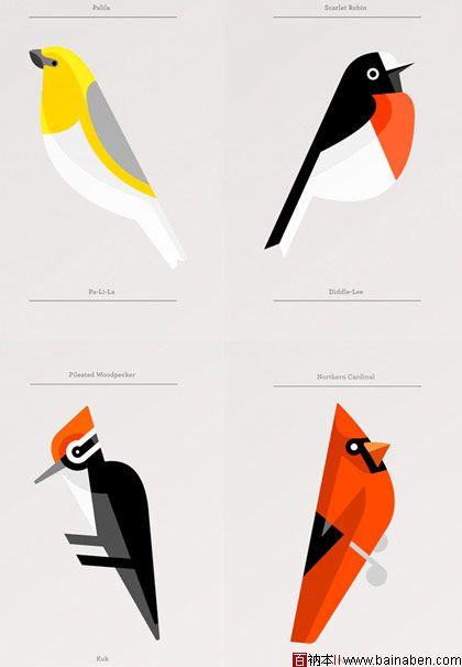 百衲本,百衲本视觉,企划,策划 展板 >> 国外简约风格海报设计