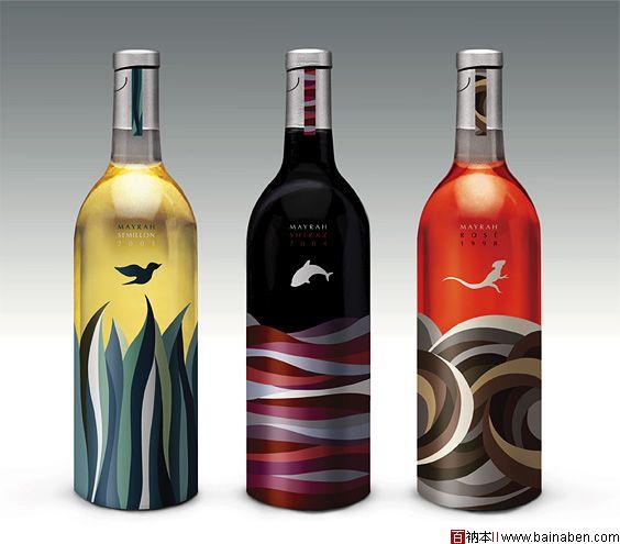 创意酒瓶设计动物