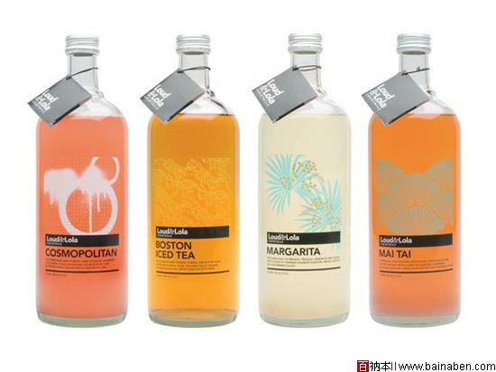 39个国外色彩艳丽的创意饮料包装设计欣赏图片