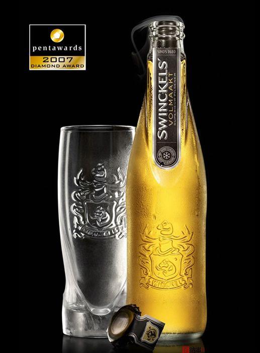 39个国外色彩艳丽的创意饮料包装设计欣赏