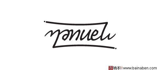 39款字母字体造型标志设计欣赏