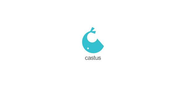 以字母c为主题的创意标志设计欣赏图片