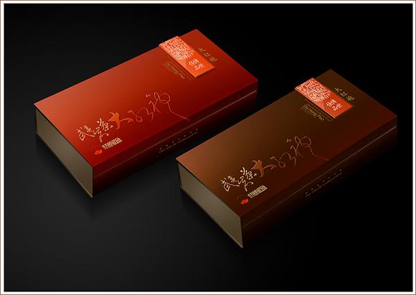 东方佳韵大红袍礼盒包装设计