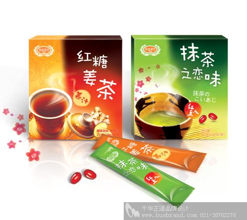 上海千华各式茶包装设计欣赏