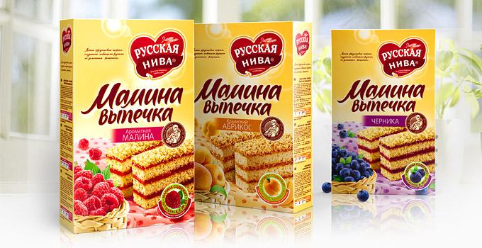 俄罗斯设计公司kian蛋糕包装设计欣赏