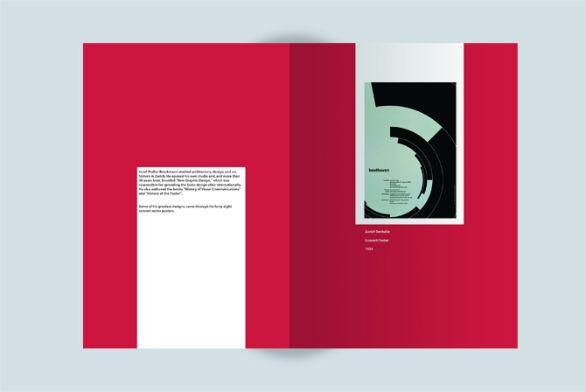 33国外活动简洁dm单,折页设计欣赏
