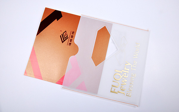 深圳某珠宝品牌企业宣传画册设计欣赏