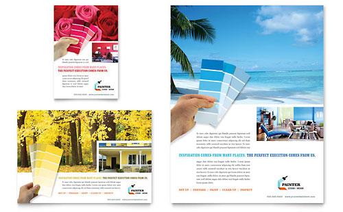国外漂亮的单页宣传单设计欣赏