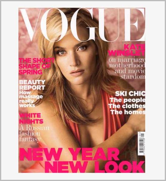 vogue杂志封面设计欣赏