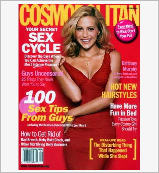 国外杂志cosmopolitan封面设计欣赏