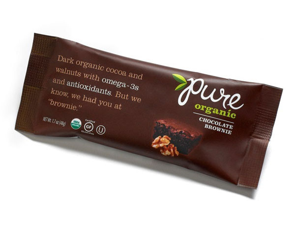 """""""pure""""纯有机坚果食品包装设计"""
