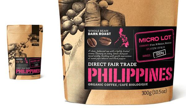 坚果咖啡包装设计欣赏