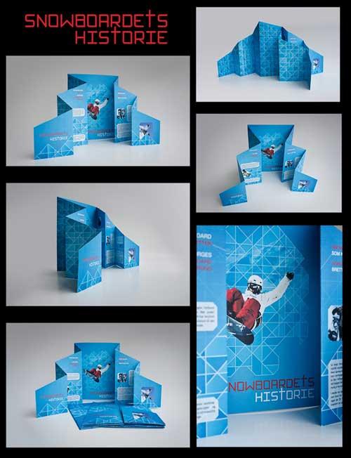 国外创意画册设计欣赏-百衲本图片