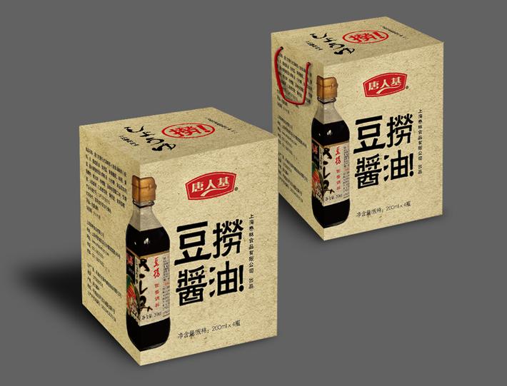 豆捞酱油包装设计欣赏