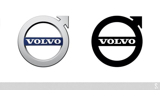 沃尔沃新标志   沃尔沃xc90   沃尔沃xc90   采用新logo的高清图片