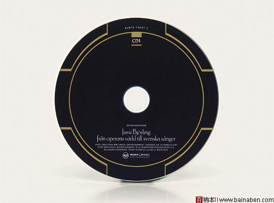 cd盘面&cd包装设计欣赏